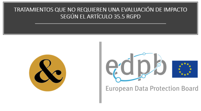LOPD – GDRP DATOS A REVISAR.